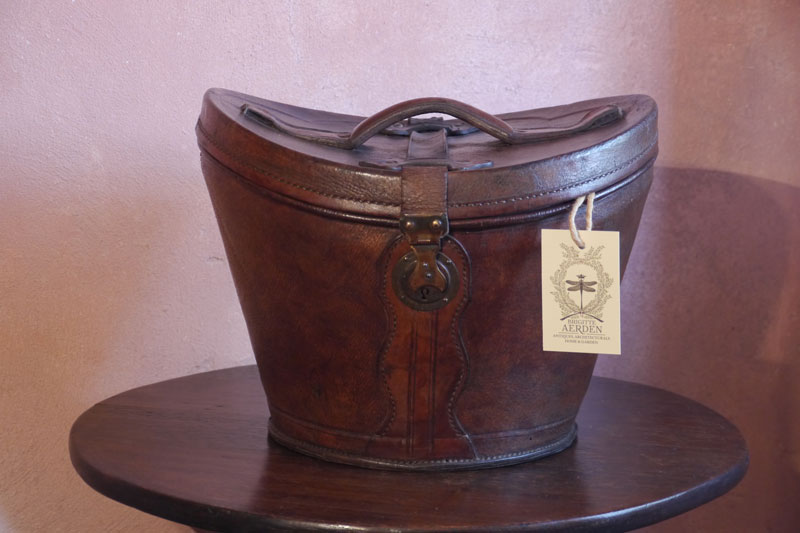Leather HatBox