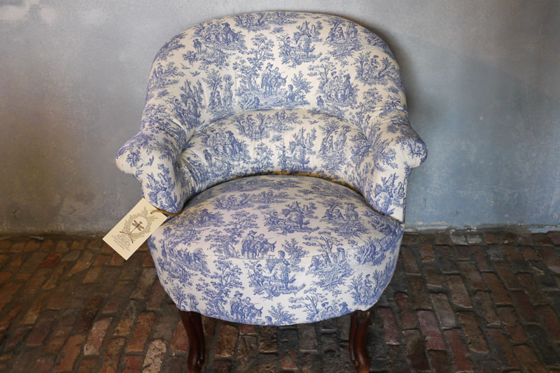 Chair Crapaud Louis-Philippe