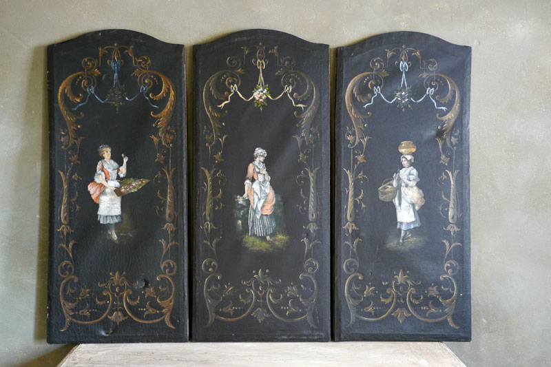 Triptych Painting