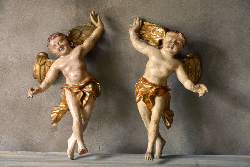 !! SALE !! Pair Cherubs