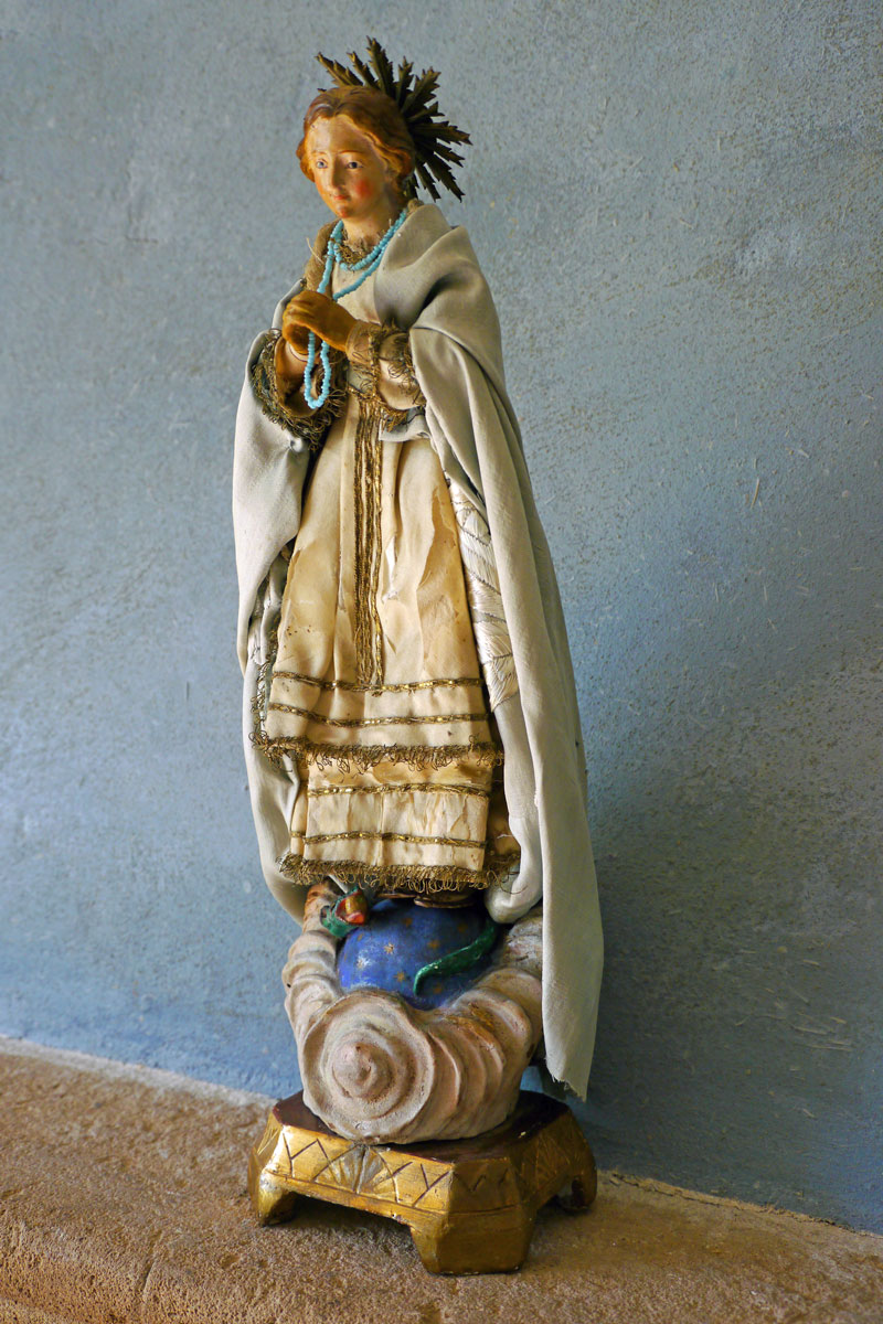 Creche Statue Virgin Mary Immaculate Conception