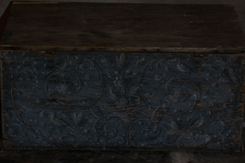 Painted Hindeloopen Chest