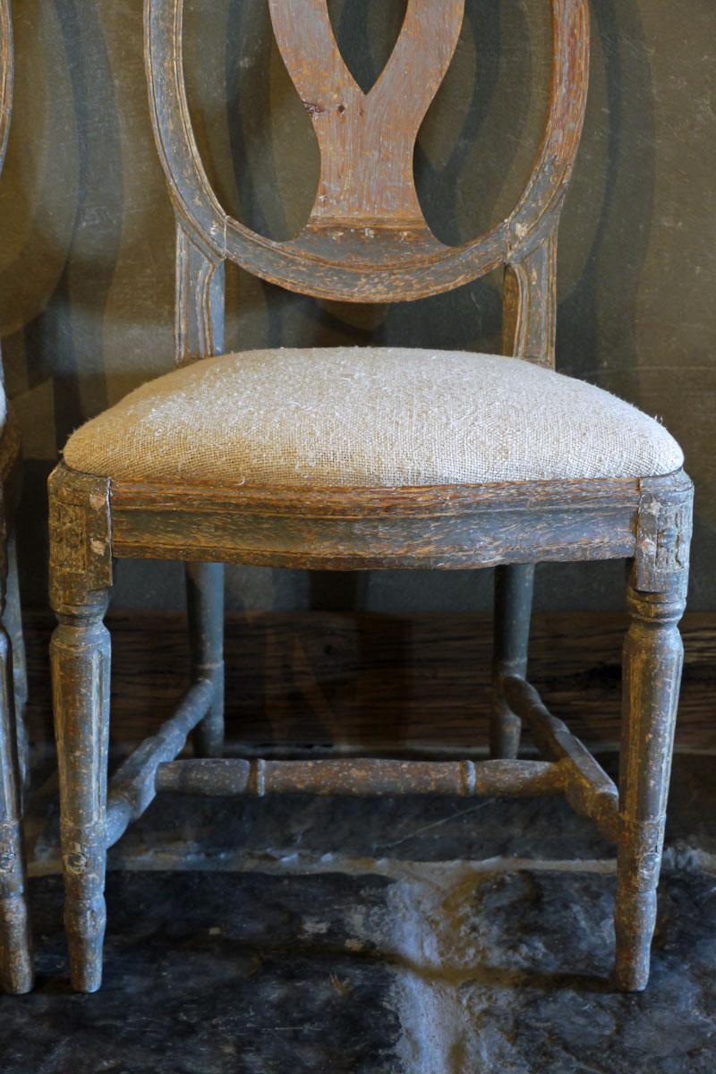 Zweeds Antieke Stoelen.Pair Of Swedish Chairs Brigitte Aerden Antiques Architecturals