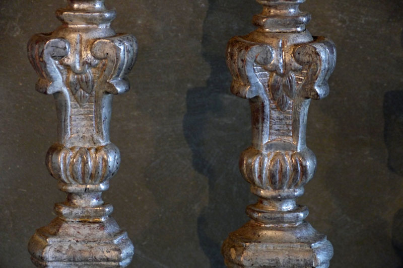 Pair Candleholders