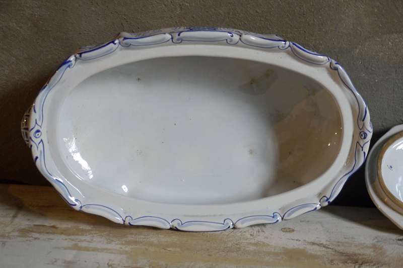 Large Porcelain Terrine