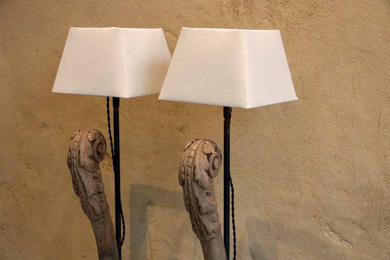 French Pair of Lamps