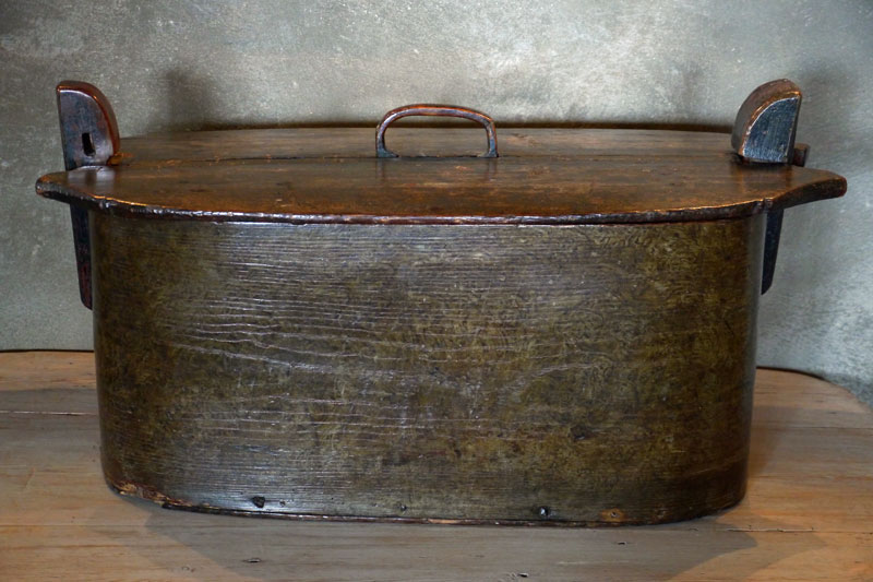 Swedish Tine Bentwood Box