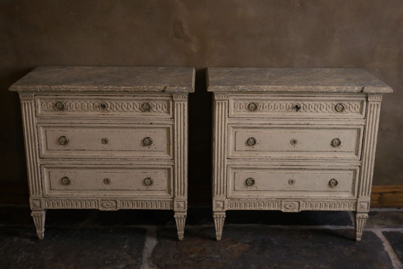 Pair Chest of Drawers